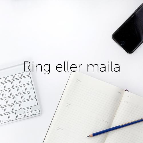 Ring eller maila