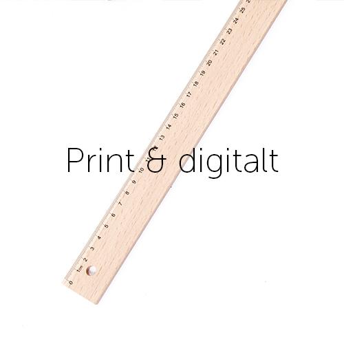 Print & digitalt